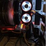 LEDメモリファン「Kingston KHX-FAN-B HyperX Fan Black」と「FTB-3500C5-DR TurbulenceIII MemoryCooler」レビュー。