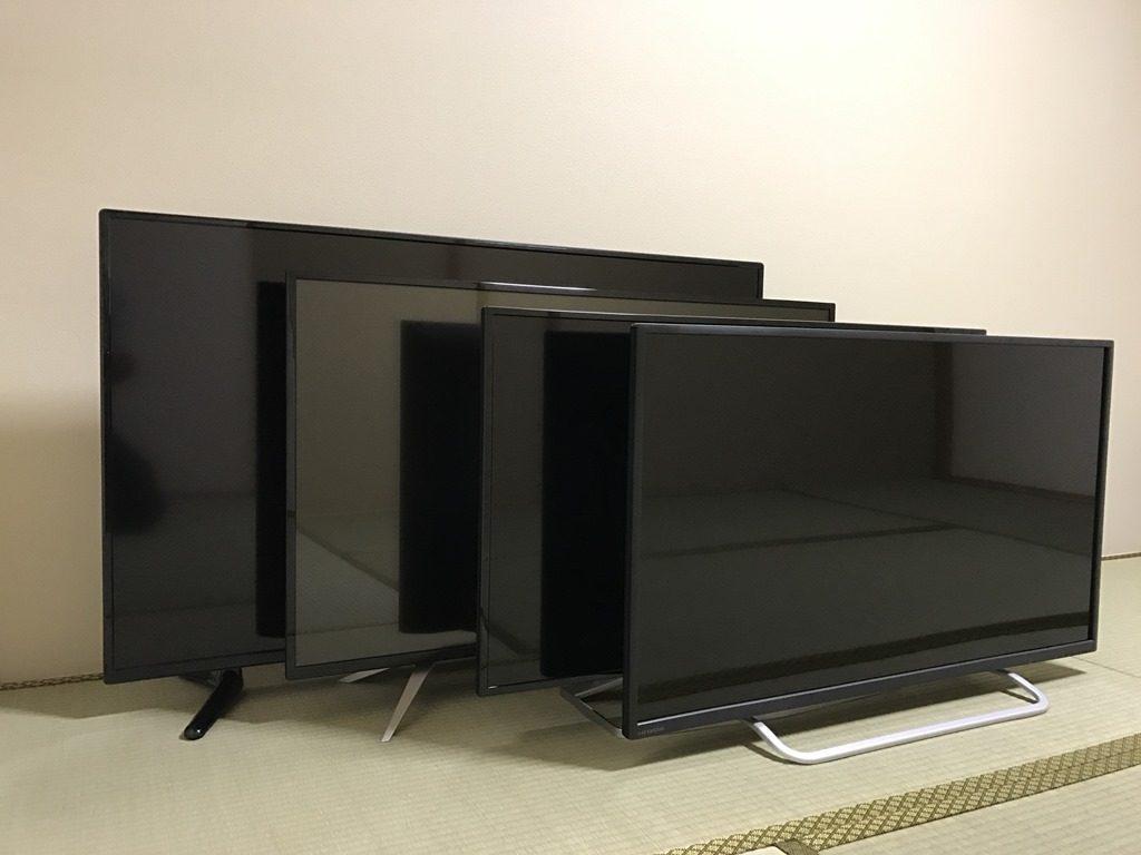 大型4K液晶ディスプレイ比較