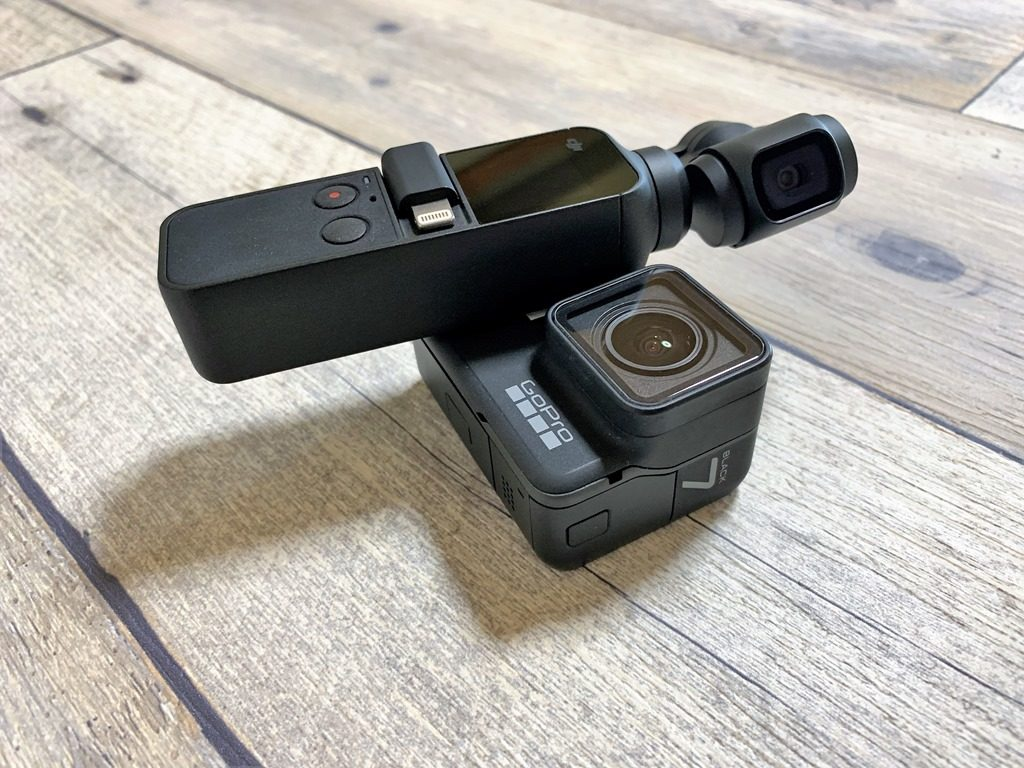 GoProとOSMO Pocketの比較