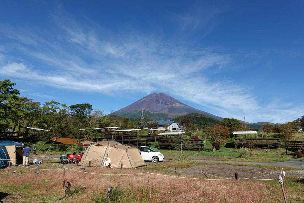 PICA富士ぐりんぱキャンプ場